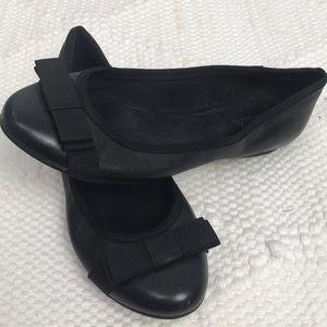 Abella Black Flats